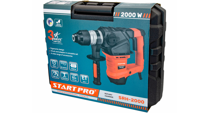 Перфоратор Start Pro SRH-2000