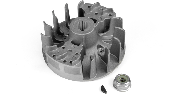 BC430(H)_Маховик (магнето) в сборе с гайкой и шпонкой для триммера бензинового 1E40F-5 Start Pro 4193