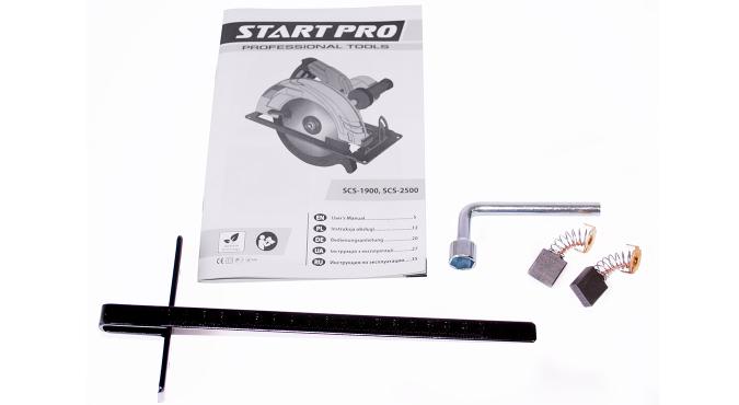 Пила циркулярная Start Pro SCS-2500