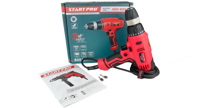 Дрель электрическая Start Pro SED-820