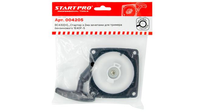 BC430(H)_Стартер с 2-мя зацепами для триммера бензинового 1E40F-5 Start Pro 4205
