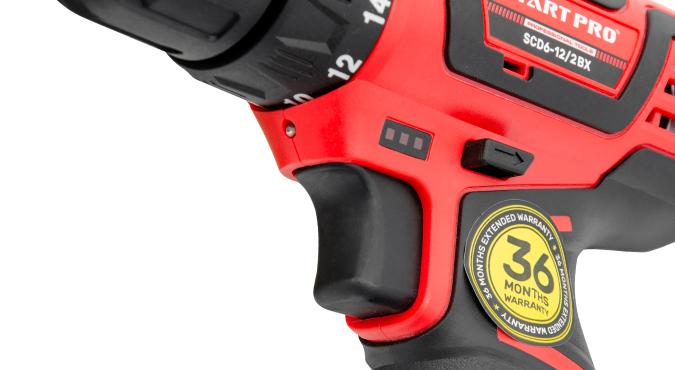 Шуруповерт акумуляторний Start Pro SCD6-12/2 BX