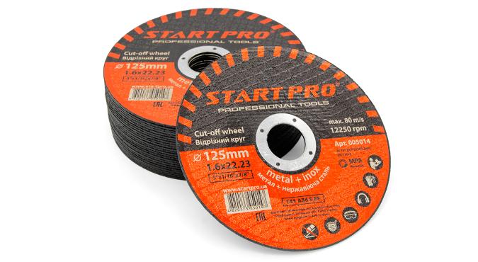 Круг отрезной START PRO_125 x 1.6 x 22.23, уп.25 шт.