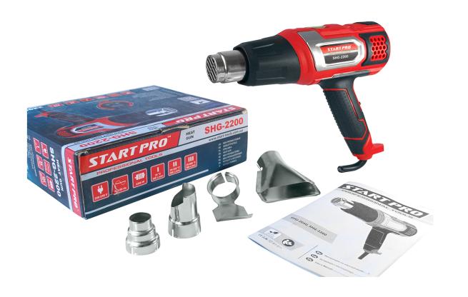 Фен промышленный Start Pro SHG-2200 - Комплектация
