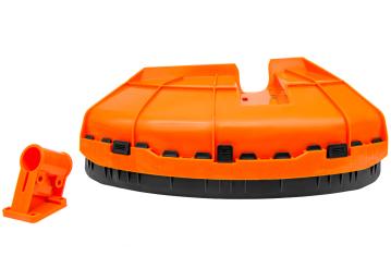 BC430(H)_Защита ножа (кожух) в сборе D26 мм с пластиковым фиксатором для триммера бензинового 1E40F-5 Start Pro 4208 - 1