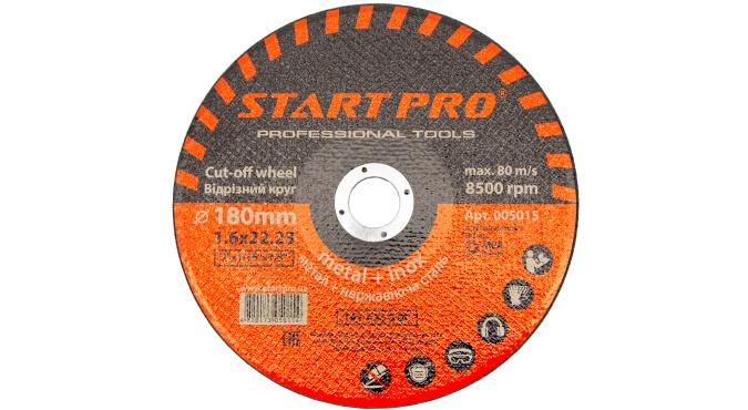 Круг отрезной START PRO_180 x 1.6 x 22.23, уп.25 шт.