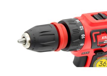 Шуруповерт аккумуляторный Start Pro SCD6-12/2 DFR - 8