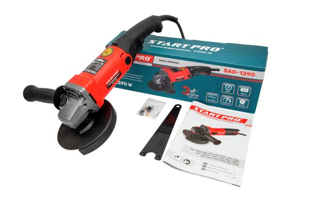 Кутошліфувальна машина Start Pro SAG-1290 - Комплектація