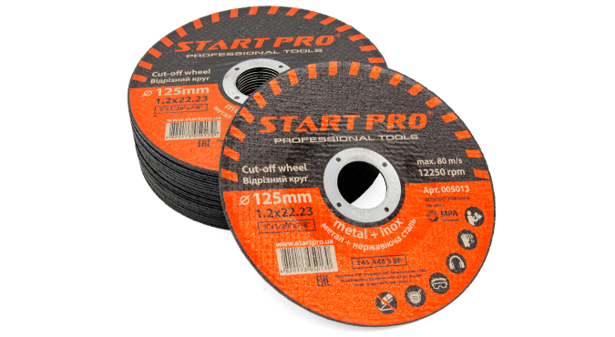 Круг отрезной START PRO_125 x 1.2 x 22.23, уп.25 шт.
