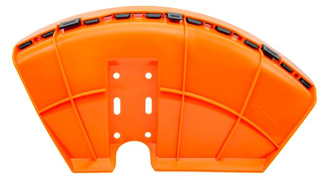 BC430(H)_Защита ножа (кожух) в сборе D26 мм с пластиковым фиксатором для триммера бензинового 1E40F-5 Start Pro 4208