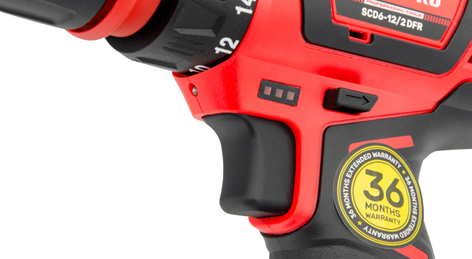 Шуруповерт аккумуляторный Start Pro SCD6-12/2 DFR