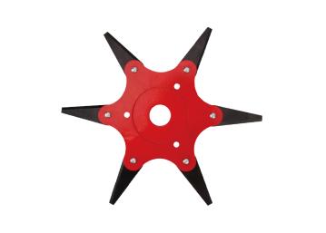 Нож для триммера сегментный с 6-мя закаленными лезвиями SB001 Start Pro 4236 - 1