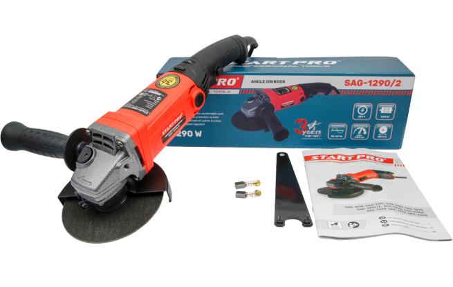 Шлифмашинка угловая Start Pro SAG-1290-2 - Комплектация