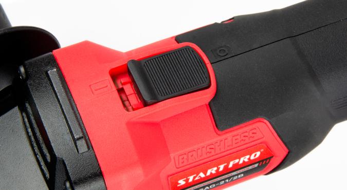 Шлифмашина угловая аккумуляторная Start Pro SAG-21/2B BRUSHLESS
