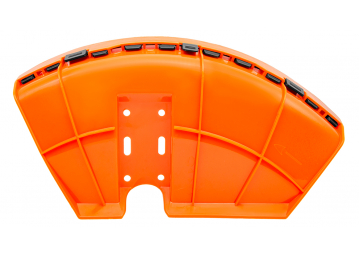 BC430(H)_Защита ножа (кожух) в сборе D26 мм с пластиковым фиксатором для триммера бензинового 1E40F-5 Start Pro 4208 - 2