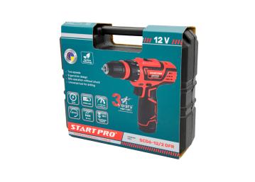 Шуруповерт аккумуляторный Start Pro SCD6-12/2 DFR - 16
