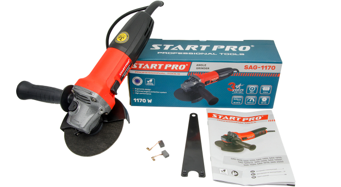 Шлифмашинка угловая Start Pro SAG-1170