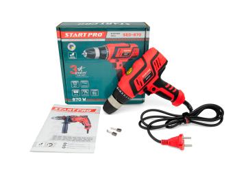 Дрель электрическая Start Pro SED-870 - 8