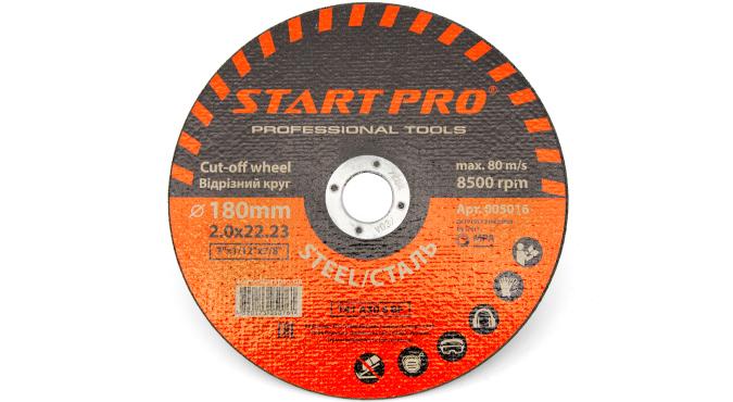 Круг отрезной START PRO_180x2.0x22.23, уп.25 шт.