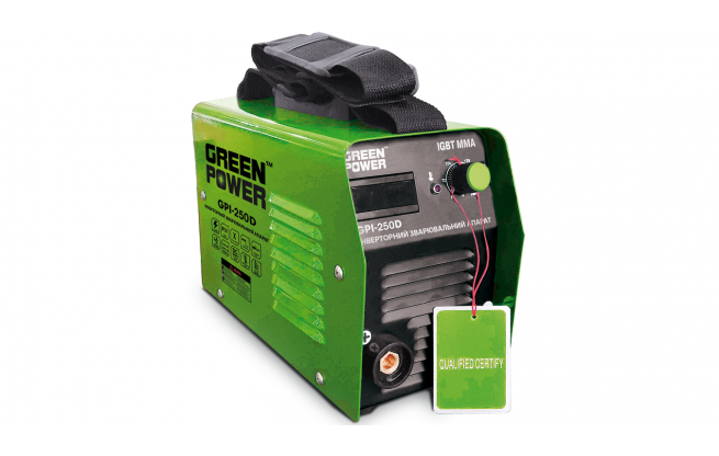 Инвертор сварочный Green Power GPI-250 D - Комплектация