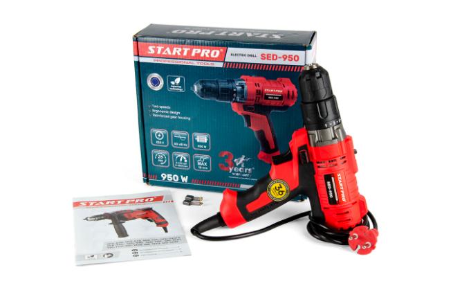 Дрель электрическая Start Pro SED-950 - Комплектация