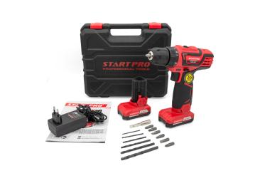 Шуруповерт аккумуляторный Start Pro SCD6-18/2 - 12