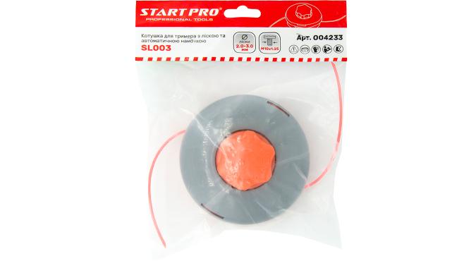 Катушка для триммера с леской и автоматической намоткой SL003 Start Pro 4233