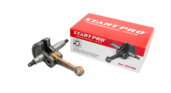 BC430(H)_Вал коленчатый для триммера бензинового 1E40F-5 Start Pro 4180