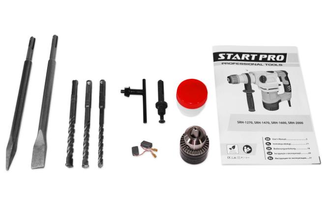 Перфоратор Start Pro SRH-1270 - Комплектация