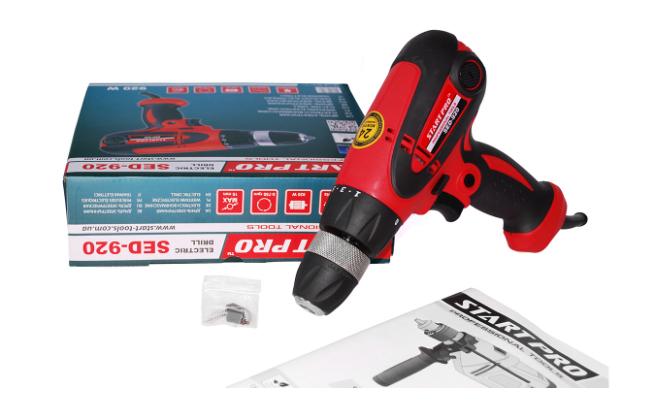 Дрель электрическая Start Pro SED-920 - Комплектация