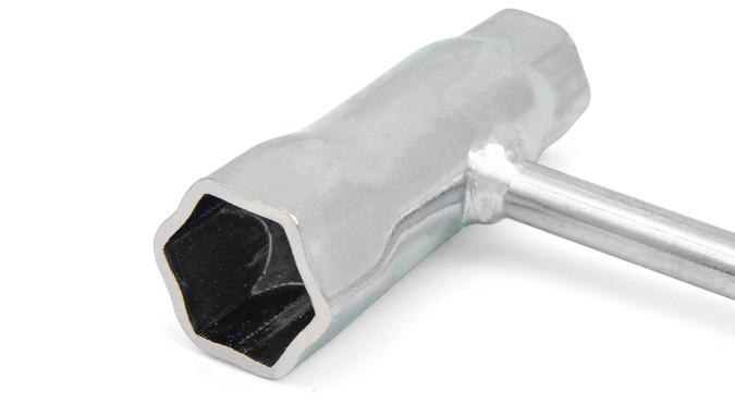 Ключ свечной усиленный 19/13, длина 160 мм Start Pro 4216